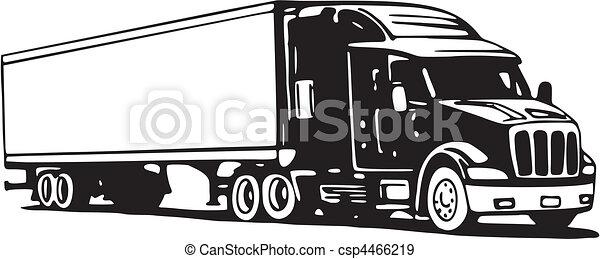 Truck - csp4466219