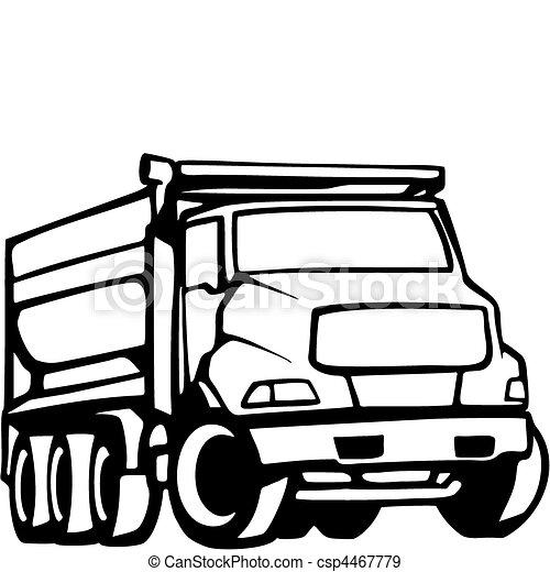 truck illustrations and clip art 108 513 truck royalty free rh canstockphoto com semi truck clip art free free semi truck clipart black and white