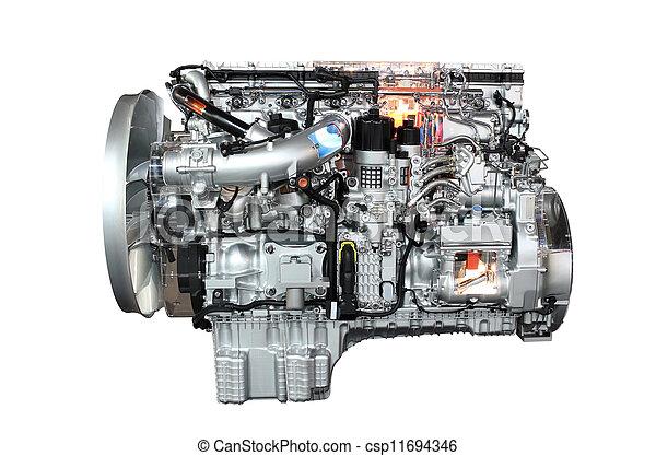 truck engine - csp11694346