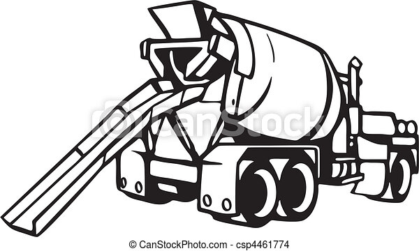 truck eps vector search clip art illustration drawings and rh canstockphoto com concrete block clipart clipart concrete construction