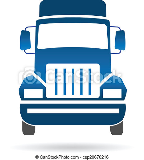 truck front image logo truck front image vector clip art search rh canstockphoto com truck logos for business truck logos and lettering