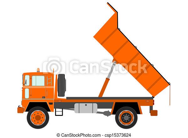 Truck - csp15373624