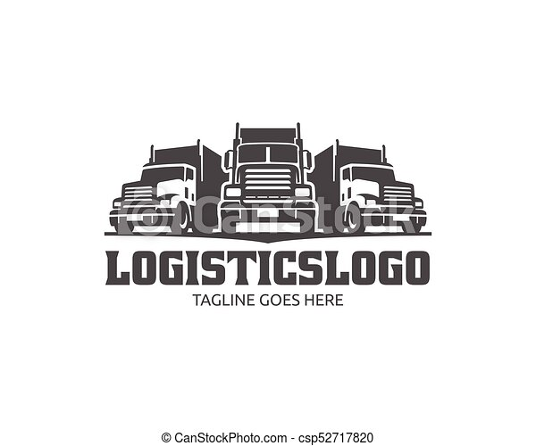 a template of truck logo cargo logo delivery cargo trucks rh canstockphoto com truck logos free truck logos pictures