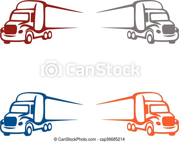 truck logo illustration logo for any business rh canstockphoto com truck logos and names truck logo maker