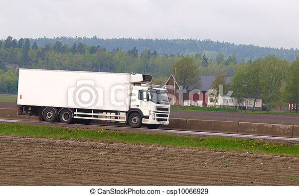 Truck on the road - csp10066929