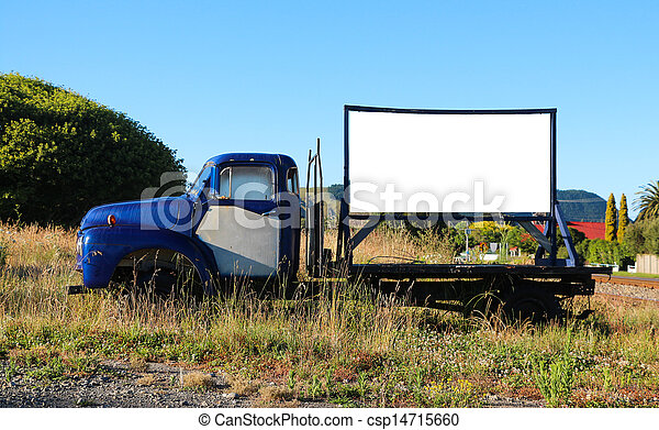 Truck Sign - csp14715660