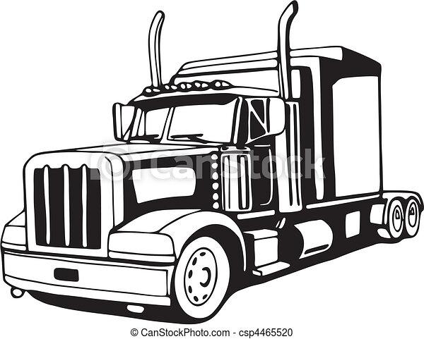Truck - csp4465520