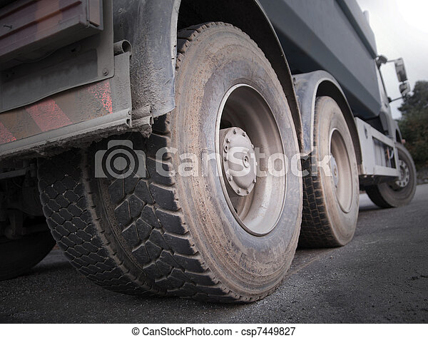 Truck wheels - csp7449827