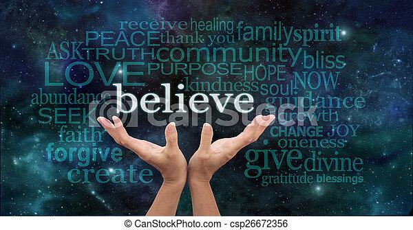 Truly Believe - csp26672356
