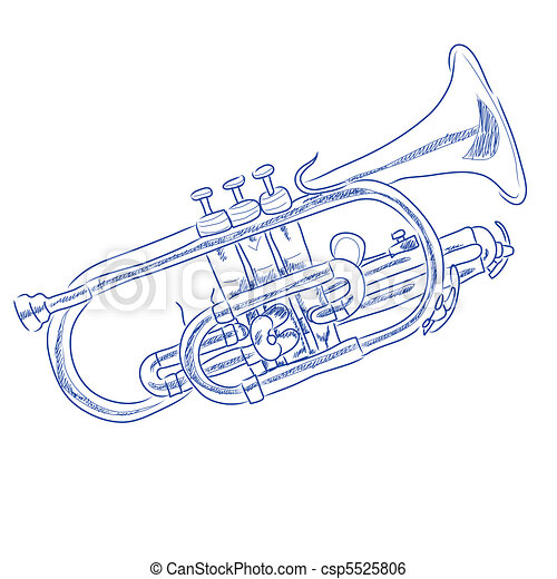 Trumpet - csp5525806