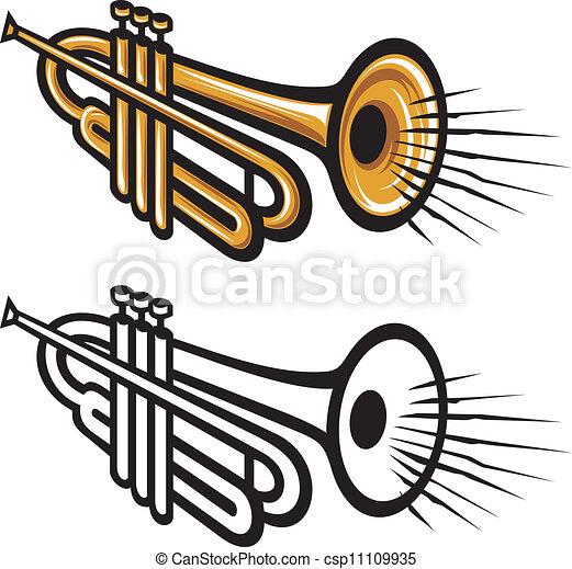trumpet - csp11109935