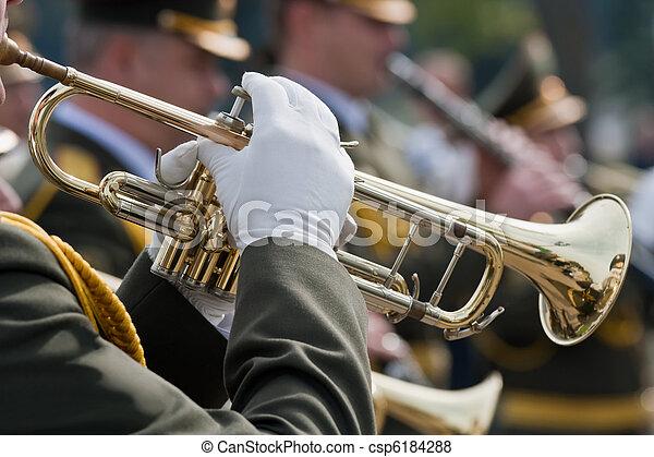 Trumpet players - csp6184288