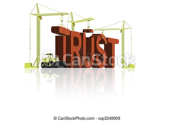 trust building - csp3248909
