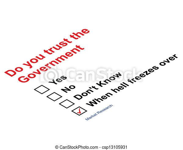 Trust Government  - csp13105931