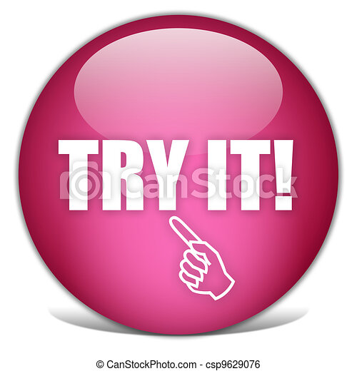 Try it button - csp9629076