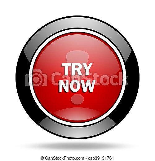 try now icon - csp39131761