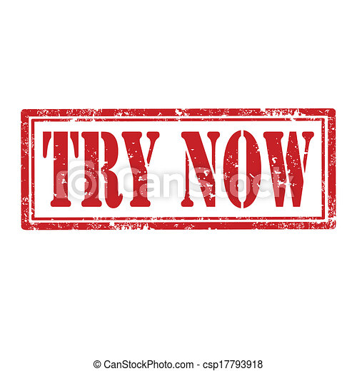 Try Now-stamp - csp17793918