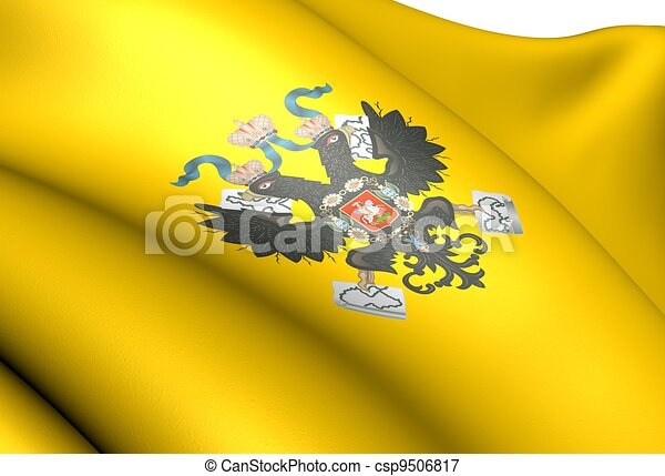 Tsar of Russia Imperial Standard - csp9506817