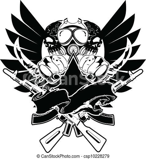 tshirt, vektor, design, zeichen - csp10228279