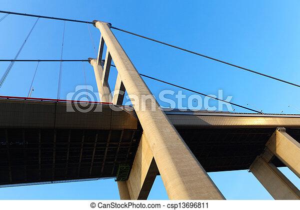 Tsing Ma Bridge - csp13696811