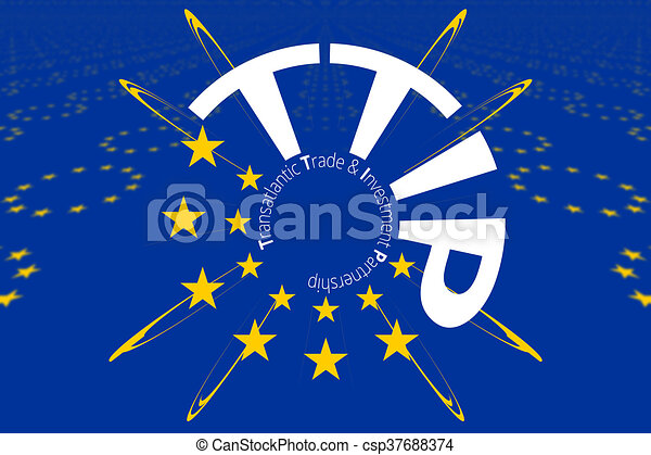 Ttip 13 stars transatlantic trade and investment partnership symbol ttip 13 stars transatlantic trade and investment partnership symbol csp37688374 publicscrutiny Choice Image