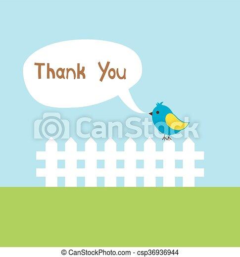 tu, agradecer - csp36936944