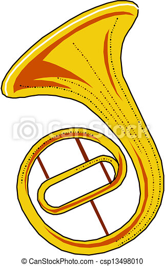 tuba vector clip art search illustration drawings and eps rh canstockphoto com marching band tuba clipart Trombone Clip Art