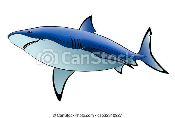 tubarão - csp32318927