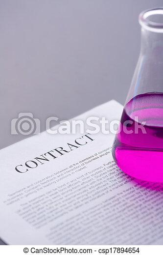 tube, contrat - csp17894654