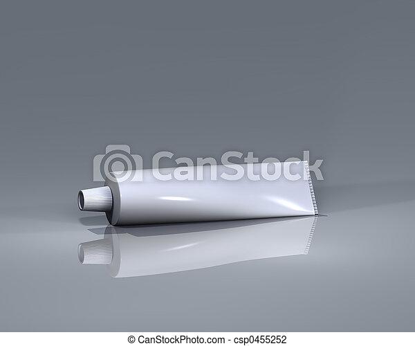 Tubo para la presentación - csp0455252