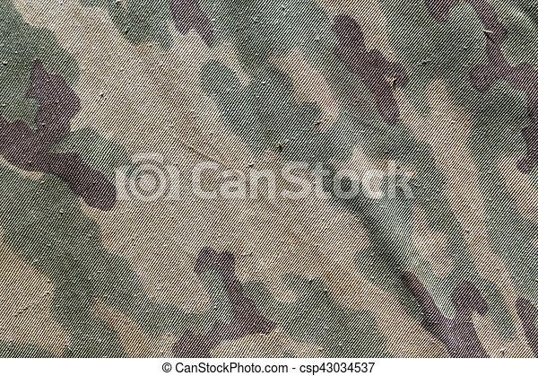tuch, altes , texture., tarnung - csp43034537