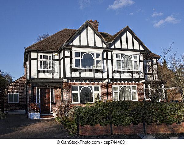 Tudor style house in London - csp7444631