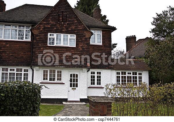 Tudor style house in London - csp7444761