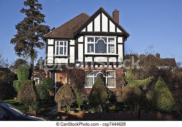 Tudor style house in London - csp7444628