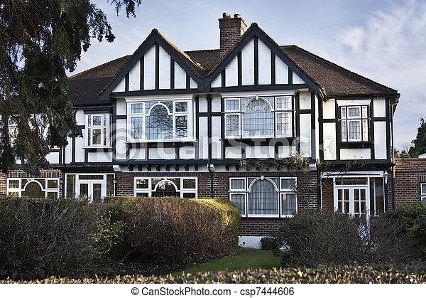Tudor style house in London - csp7444606