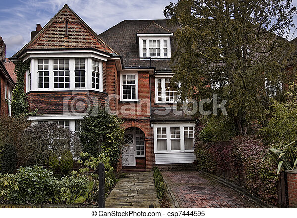 Tudor style house in London - csp7444595