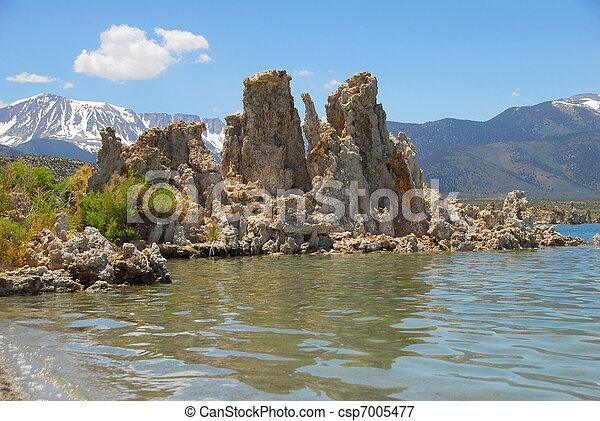 Tufas at Mono Lake - csp7005477