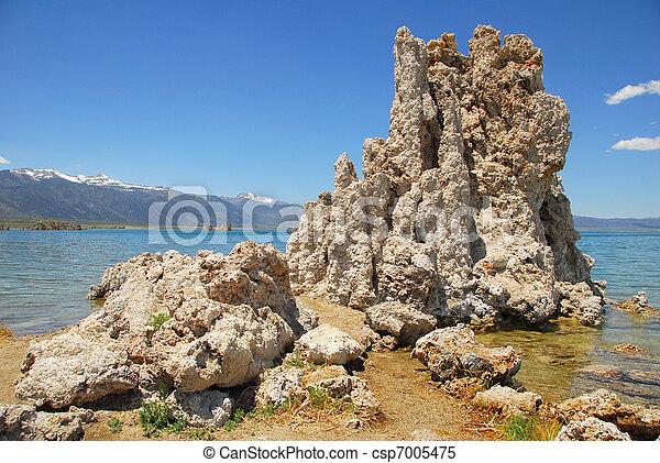 Tufas at Mono Lake - csp7005475