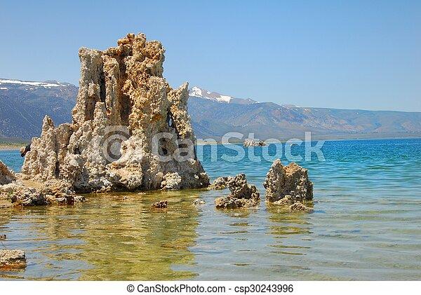 Tufas at Mono Lake - csp30243996