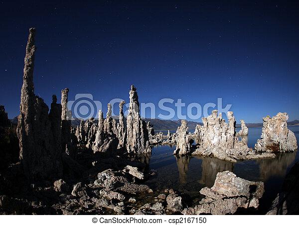 Tufas of Mono Lake Califonia - csp2167150