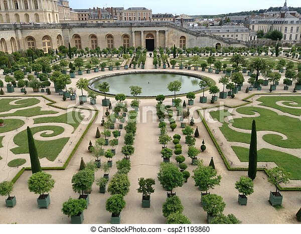 Tuin Versailles Versailles Frankrijk