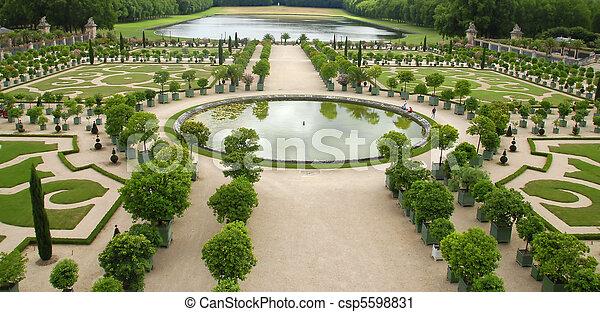 Tuinen Versailles Paleis Parijs Frankrijk Beroemd