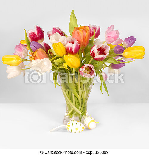 tulipánok, ikra, húsvét - csp5326399