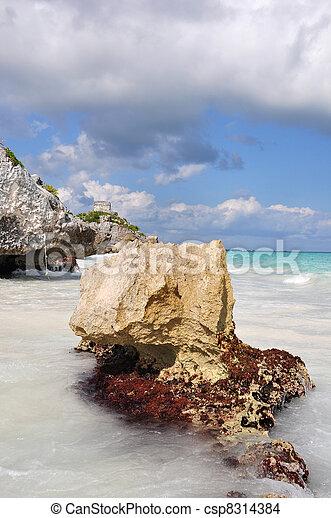 tulum beach - csp8314384