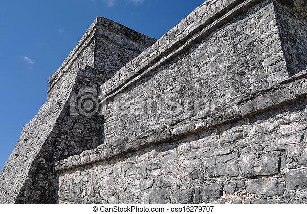 Tulum Mayan Ruins - csp16279707