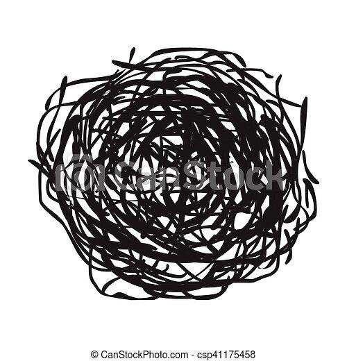 tumbleweed icon in black style isolated on white background rh canstockphoto ie Tumbleweed Cartoon tumbleweed clipart free