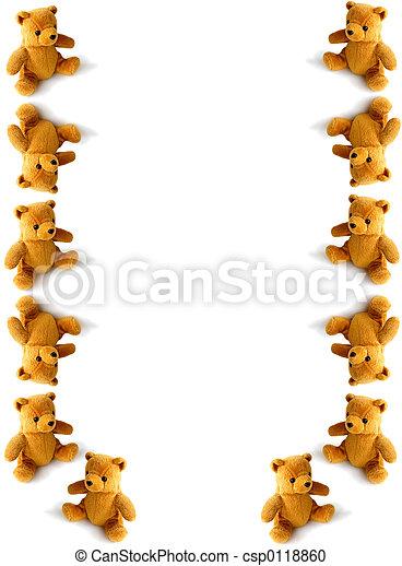 tumbling teddies - csp0118860