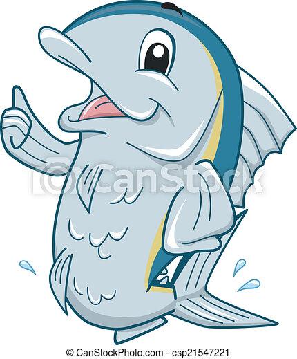 Tuna Mascot - csp21547221