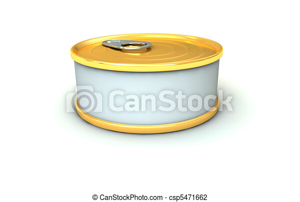 tuna tin - csp5471662