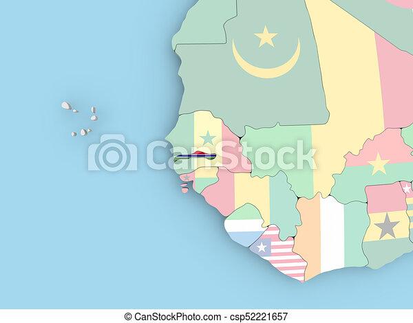 Tunesien Karte Welt.Tunesien Landkarte Erdball Fahne